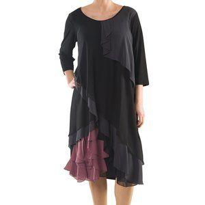 Plus Size Jersey Spanish Dress - La Mouette